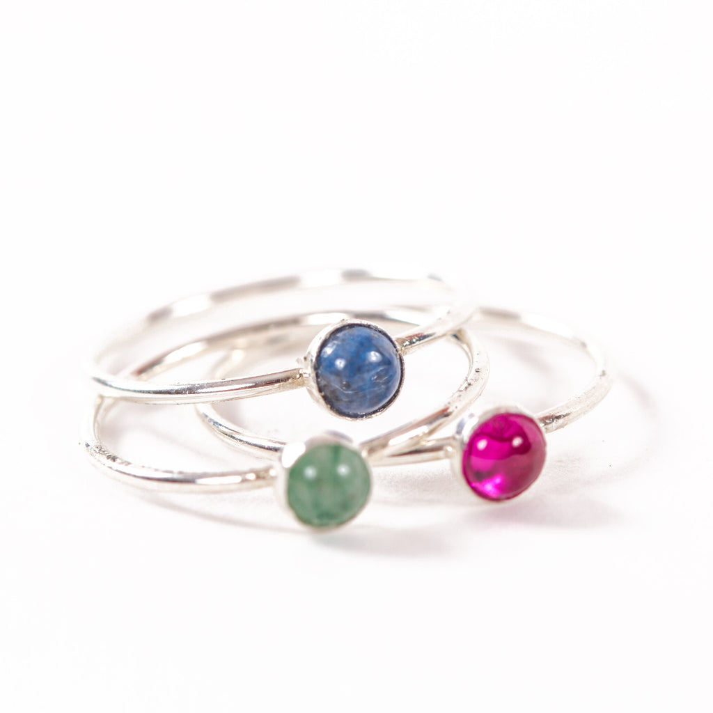 Mini Orion Rings- Sterling Silver