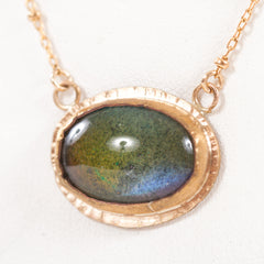 Vintage Mood Stone Necklace