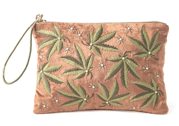 Just a Weed Large Pouch
