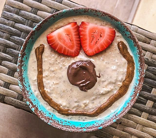 Cinnamon Overnight Oats