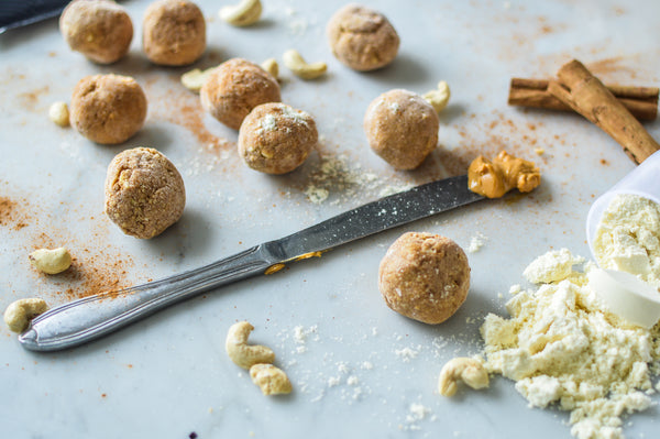 Low Sugar Peanut Butter Protein Balls