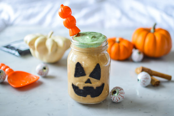 Halloween Pumpkin Pie Shake