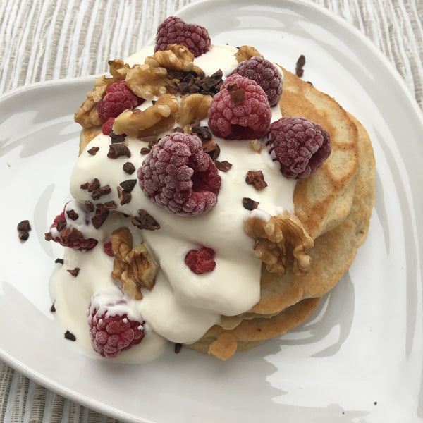 Korin's American Style Protein Pancakes