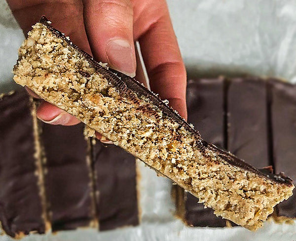 Chocolate Covered Protein Bars