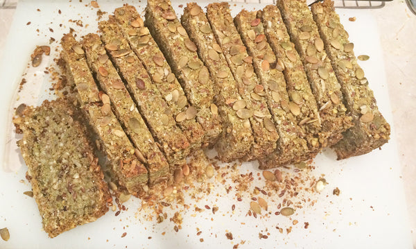 Seedy Flax Vegan Protein Bread