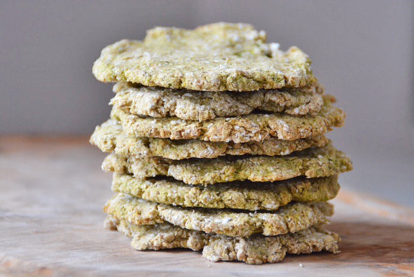 Courgette & Flaxseed Oatcakes