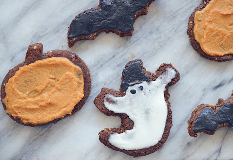 Halloween Chocolate Peanut Butter Protein Cookie Recipe | Neat Nutrition. Clean, Simple, No-Nonsense.
