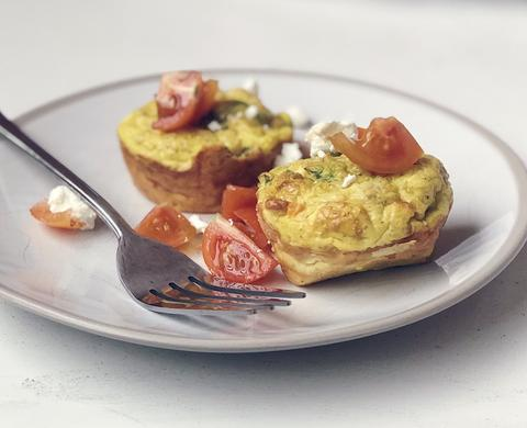 Egg and Feta Muffins Recipe | Neat Nutrition. Clean, Simple, No-Nonsense Protein.