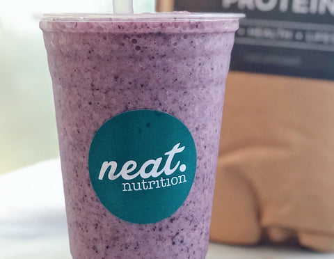 Blueberry Pie Shake Recipe | Neat Nutrition. Active Nutrition, Reimagined For You.