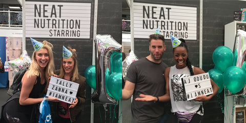 Girl Gains and AJ at BeFit | Neat Nutrition. Clean, Simple, No-Nonsense.