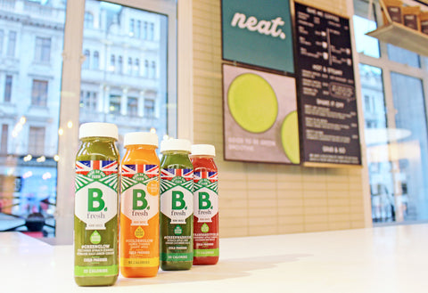 B Fresh Juices at The Neat Cafe  | Neat Nutrition. Clean, Simple, No-Nonsense.