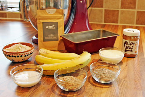 Protein Banana Bread Ingredients | Neat Nutrition. Clean, Simple, No-Nonsense.