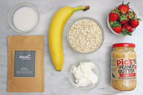 Protein Berry Bread Ingredients | Neat Nutrition. Clean, Simple, No-Nonsense.