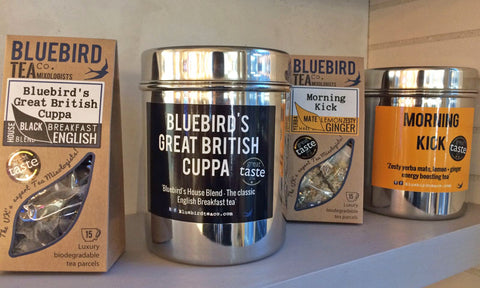 Bluebird Teas at The Neat Cafe  | Neat Nutrition. Clean, Simple, No-Nonsense.