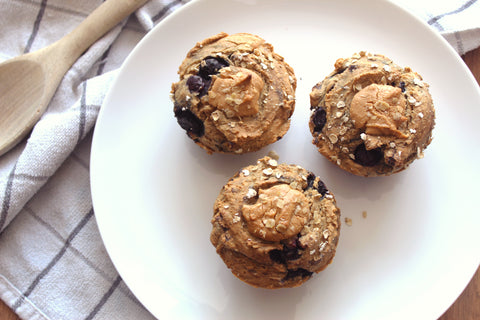 Fruity Protein Breakfast Muffin Recipe | Neat Nutrition. Clean, Simple, No-Nonsense.