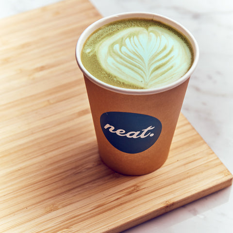 Protein Matcha Latte Recipe | Neat Nutrition. Clean, Simple, No-Nonsense Protein.