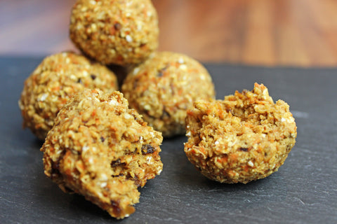 Carrot Cake Protein Ball Recipe | Neat Nutrition. Clean, Simple, No-Nonsense.