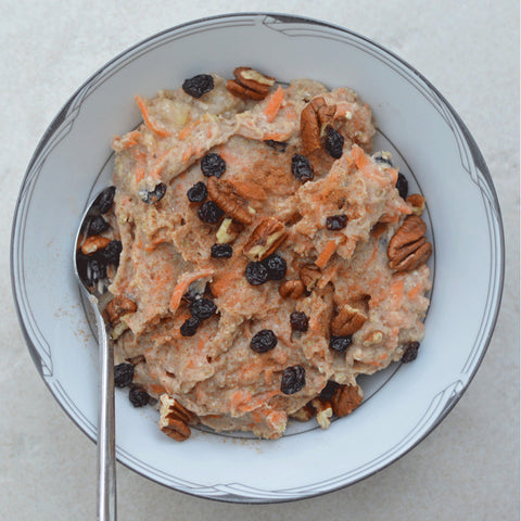 Carrot Cake Protein Oats Recipe | Neat Nutrition. Clean, Simple, No-Nonsense.