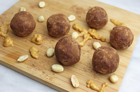 Chocolate Peanut Butter Protein Balls Recipe | Neat Nutrition. Clean, Simple, No-Nonsense.