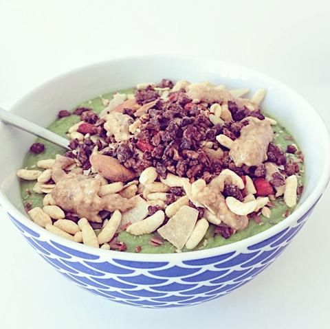 Clean Green Smoothie Bowl Neat Nutrition