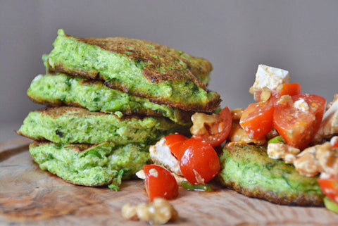 Courgette & Spinach Drop Scones Recipe | Neat Nutrition. Clean, Simple, No-Nonsense.