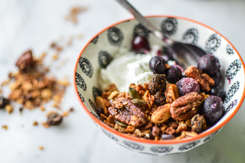 Cherry and Pecan Granola Recipe | Neat Nutrition. Clean, Simple, No-Nonsense Protein.
