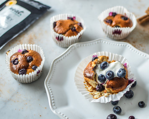 Blueberry Protein Muffins Recipe | Neat Nutrition. Active Nutrition, Reimagined For You.