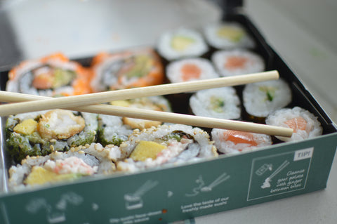 Wasabi Sushi Box | Neat Nutrition. Clean, Simple, No-Nonsense.