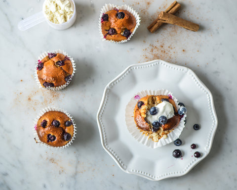 Blueberry Breakfast Muffins Recipe | Neat Nutrition. Clean, Simple, No-Nonsense Protein.
