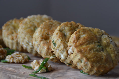 Goats Cheese Protein Scone Recipe | Neat Nutrition. Clean, Simple, No-Nonsense.