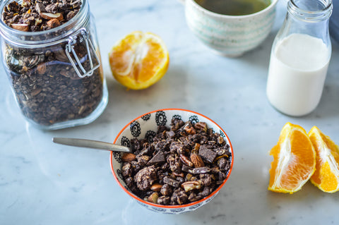 Chocolate Orange Protein Granola Recipe | Neat Nutrition. Clean, Simple, No-Nonsense Protein.