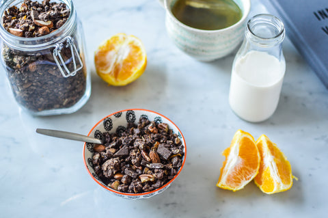 Chocolate Orange Granola Recipe | Neat Nutrition. Protein Powder Subscriptions.