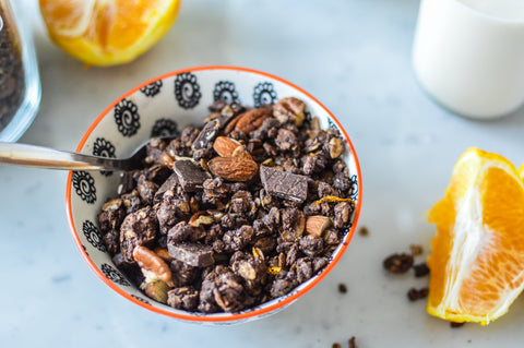 Chocolate Orange Granola Recipe | Neat Nutrition. Clean, Simple, No-Nonsense Protein.