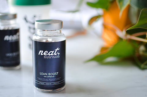 Boost Your Metabolism With Lean Boost | Neat Nutrition. Clean, Simple, No-Nonsense Protein.