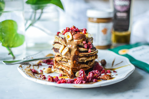 Absolutely Nuts Protein Pancake Recipe | Neat Nutrition. Protein Powder Subscriptions.