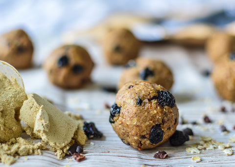 Blueberry Pie Protein Balls Recipe | Neat Nutrition. Clean, Simple, No-Nonsense Protein.