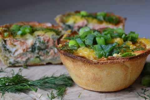 Smoked Salmon Quiche Recipe | Neat Nutrition. Clean, Simple, No-Nonsense.