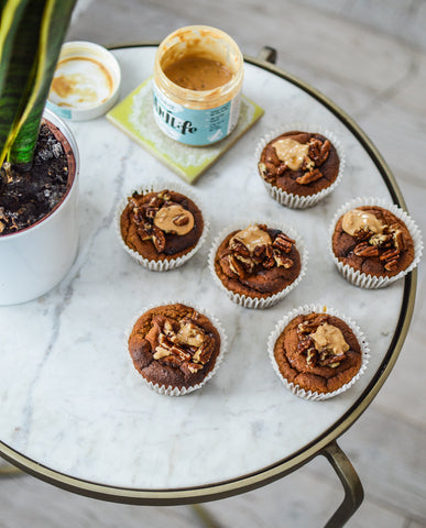 Pumpkin Protein Muffin Recipe | Neat Nutrition. Protein Powder Subscriptions.