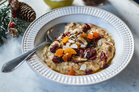 Mince Pie Oats Recipe | Neat Nutrition. Protein Powder Subscriptions.