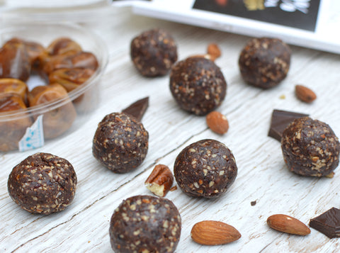 Dark Chocolate and Cherry Protein Balls Recipe | Neat Nutrition. Clean, Simple, No-Nonsense Protein.
