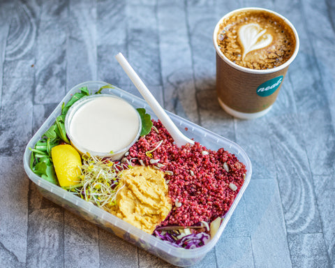 Pollen & Grace at The Neat Café | Neat Nutrition. Clean, Simple, No-Nonsense Protein.