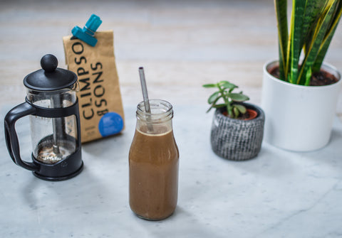 Coffee Oat Protein Shake Recipe | Neat Nutrition. Protein Powder Subscriptions.