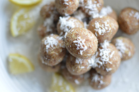 Lemon and Coconut Protein Ball Recipe | Neat Nutrition. Clean, Simple, No-Nonsense.