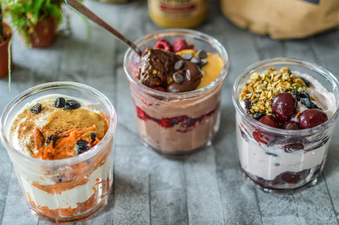 Desk-Fast Yoghurt Jars Recipe | Neat Nutrition. Active Nutrition, Reimagined For You.