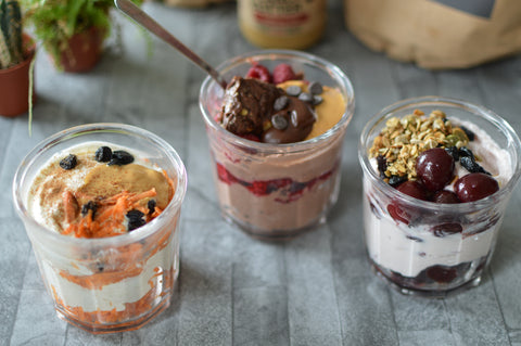 Deskfast Yoghurt Jars Recipe | Neat Nutrition. Clean, Simple, No-Nonsense Protein.