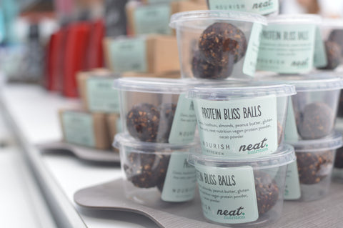 Neat Cafe & Nourish Protein Balls | Neat Nutrition. Clean, Simple, No-Nonsense.