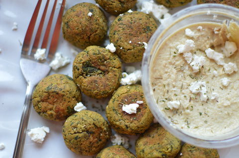 Spinach and Feta Veggie Ball Recipe | Neat Nutrition. Clean, Simple, No-Nonsense.