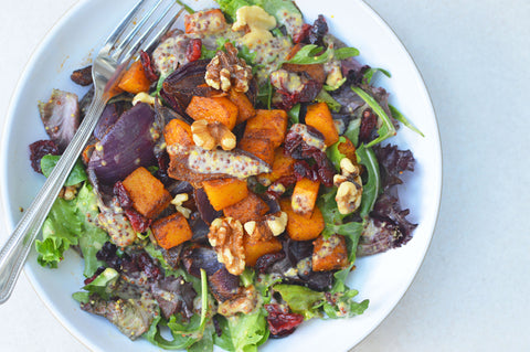 Festive Squash Protein Salad | Neat Nutrition. Clean, Simple, No-Nonsense.