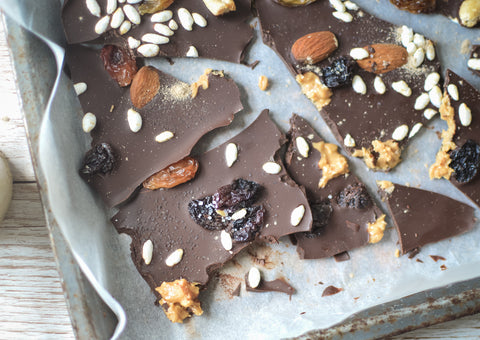 Fruit & Nut Chocolate Slab Recipe | Neat Nutrition. Clean, Simple, No-Nonsense Protein.