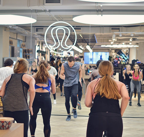 Jamie Ray HIIT Class at lululemon Regent St | Neat Nutrition. Clean, Simple, No-Nonsense.